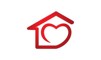 house love care logo