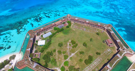 Dry Tortugas National Park, Fort Jefferson. Florida. USA.
