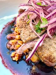 Peruvian Ahi Tuna Dish