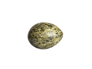 Very ancient egg with cracks