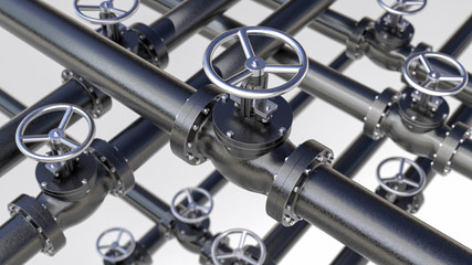 Black Valves Background
