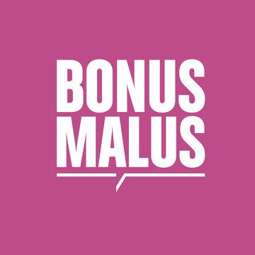 bonus,malus