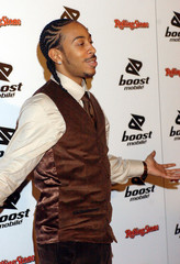 Singer Ludacris arrives at the Boost Mobile and Dave Meyers post-Grammy party in Los Angeles.