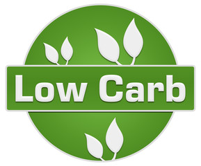 Low Carb Green Circle Leaves