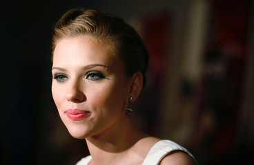 Actress Johansson arrives at Museum of Modern Art in New York City