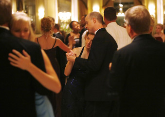 Fathers and daughters dance at the annual Father-Daughter Purity Ball in Colorado Springs