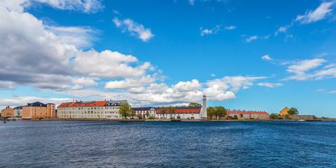 Stumholmen island in the Swedish city of Karlskrona