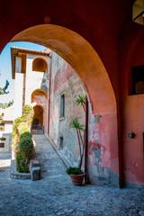 Deurstickers Marokko Dans le fort Rocca Spagnola de Porto Ercole en Toscane