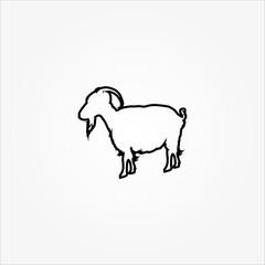 goat line icon
