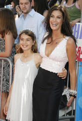 Teri Hatcher and daughter at the finale of the American Idol television show in Los Angeles