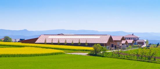 Großer landwirtschaftlicher Betrieb