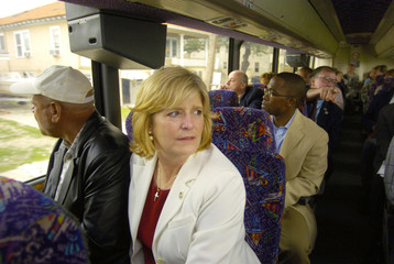 Louisiana State Representatives on New Orleans Bus Tour