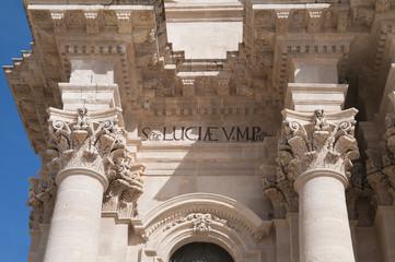 Santa Maria delle Colonne, Syrakus, Sizilien, Italien