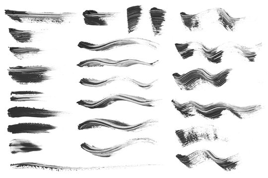 Mascara smear collection