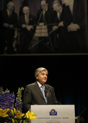 European Central Bank President Trichet makes a speech at a ceremony marking the 10th anniversary of the European Central Bank (ECB) in Frankfurt