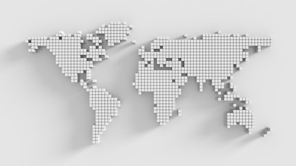 Search photos cube logo modern world mapworld map made by cube boxabstract world map3d sciox Gallery