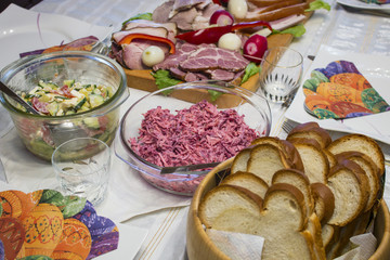 Traditonal hungarian food