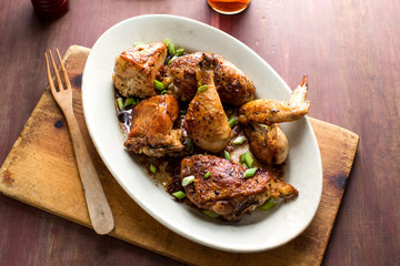Roasted Vinegar Chicken