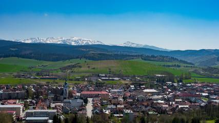 Krajobraz Tatry miasto