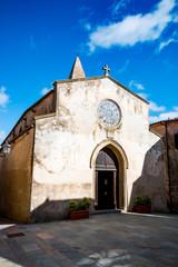 Église de Capalbio en Toscane