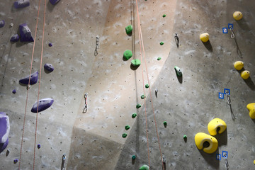 Competition Rock Climbing Wall