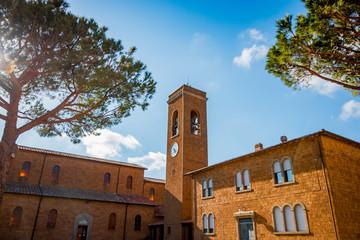 Église de Borgo Carige en Toscane