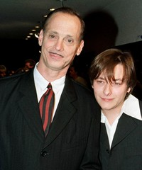 FILE PHOTO OF DIRECTOR JOHN WATERS AND ACTOR EDWARD FURLONG.