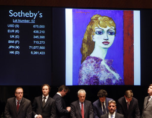A painting by Dongen was auctioned off to a bidder at the Sotheby's Impressionist & Modern Art Evening Sale in New York City
