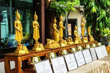 many style buddha statue of days of week