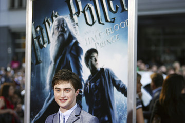 Actor Radcliffe arrives for premiere of film Harry Potter and Half-Blood Prince in New York