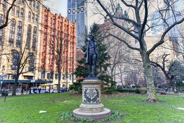 Nathan Hale Monument - New York City