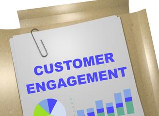 Customer Engagement concept