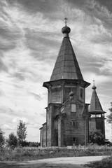 Pokrovskaya church in Lyadin, Arkhangelsk region.