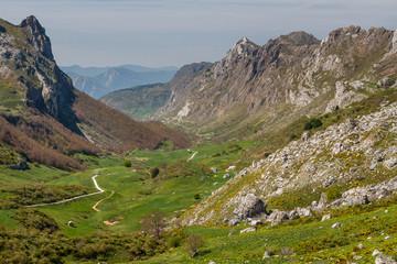 Valle del Lago. Parque Natural de Somiedo, Asturias.