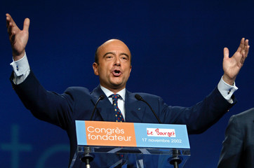 FORMER FRENCH PRIME MINISTER JUPPE DELIVERS A SPEECH AT THE UNION FOR APRESIDENTIAL MAJORITY ...