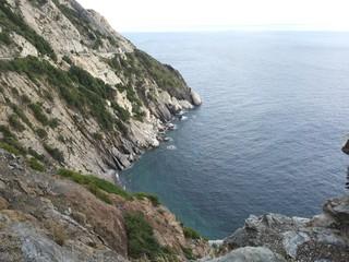 Landscape of elba island