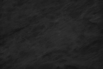 Black Stone background. Dark gray texture close up high quality May be used blank for design. Copy space