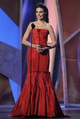Former Miss Universe Barbara Palacios attends at the 7th annual Latin Grammy Awards in New York