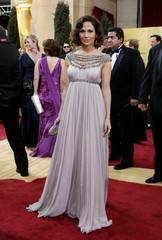 Jennifer Lopez arrives at the 79th Annual Academy Awards in Hollywood