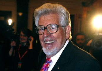 Entertainer Harris arrives on the red carpet for the ARIA Hall of Fame event in Melbourne