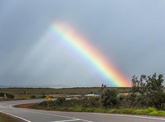 The amazing rainbow in the Gran Sabana - Venezuela, Latin America