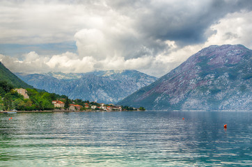 Bay of Kotor view, Montenegro