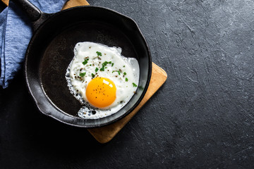 Photo sur Toile Ouf Fried egg