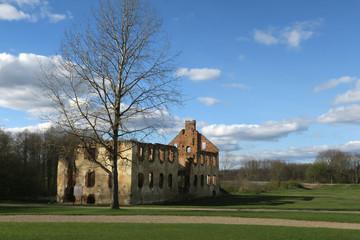 Ruins of Paulava Republic (Pavlov Republic) in Lithuania