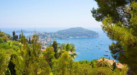 Top View of Luxury resort Villefranche-sur-Mer