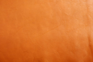 Natural brown leather texture background. Wall mural
