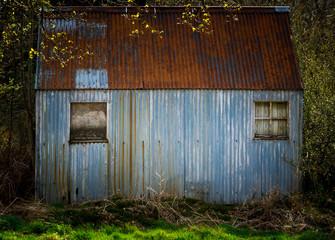 Abandoned Tin Cabin