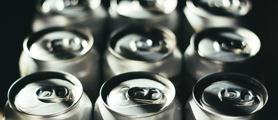 Obraz Latas de cerveza - fototapety do salonu