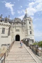 Schloss in Saumur an der Loire