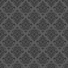 Fototapeta Seamless black wallpaper obraz